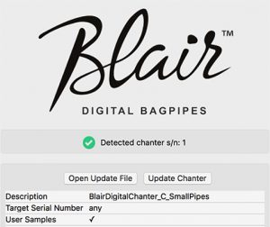 Blair Digital Chanter | Software and Sounds – Blair Bagpipes